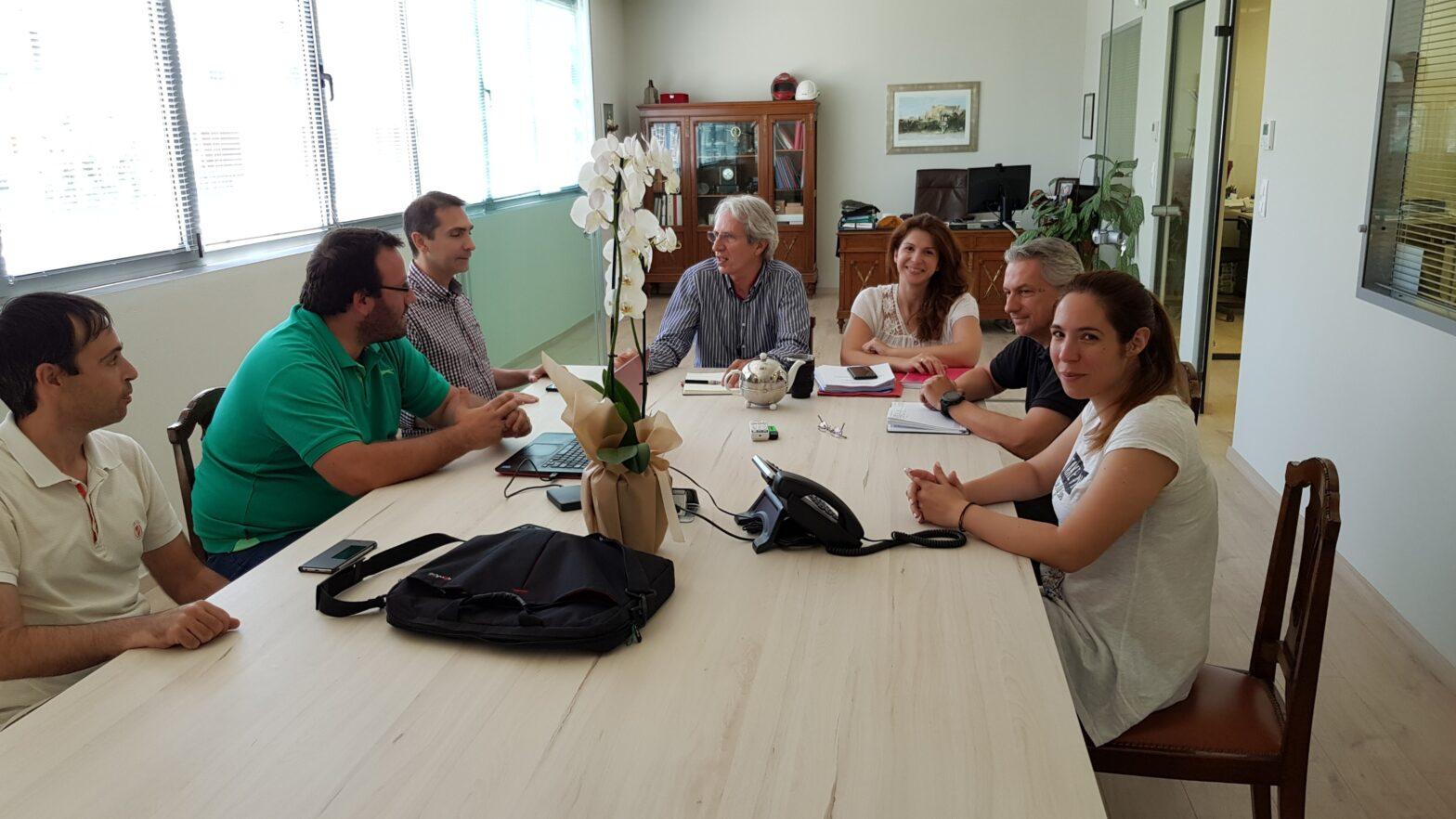 Photo from Kickoff Meeting