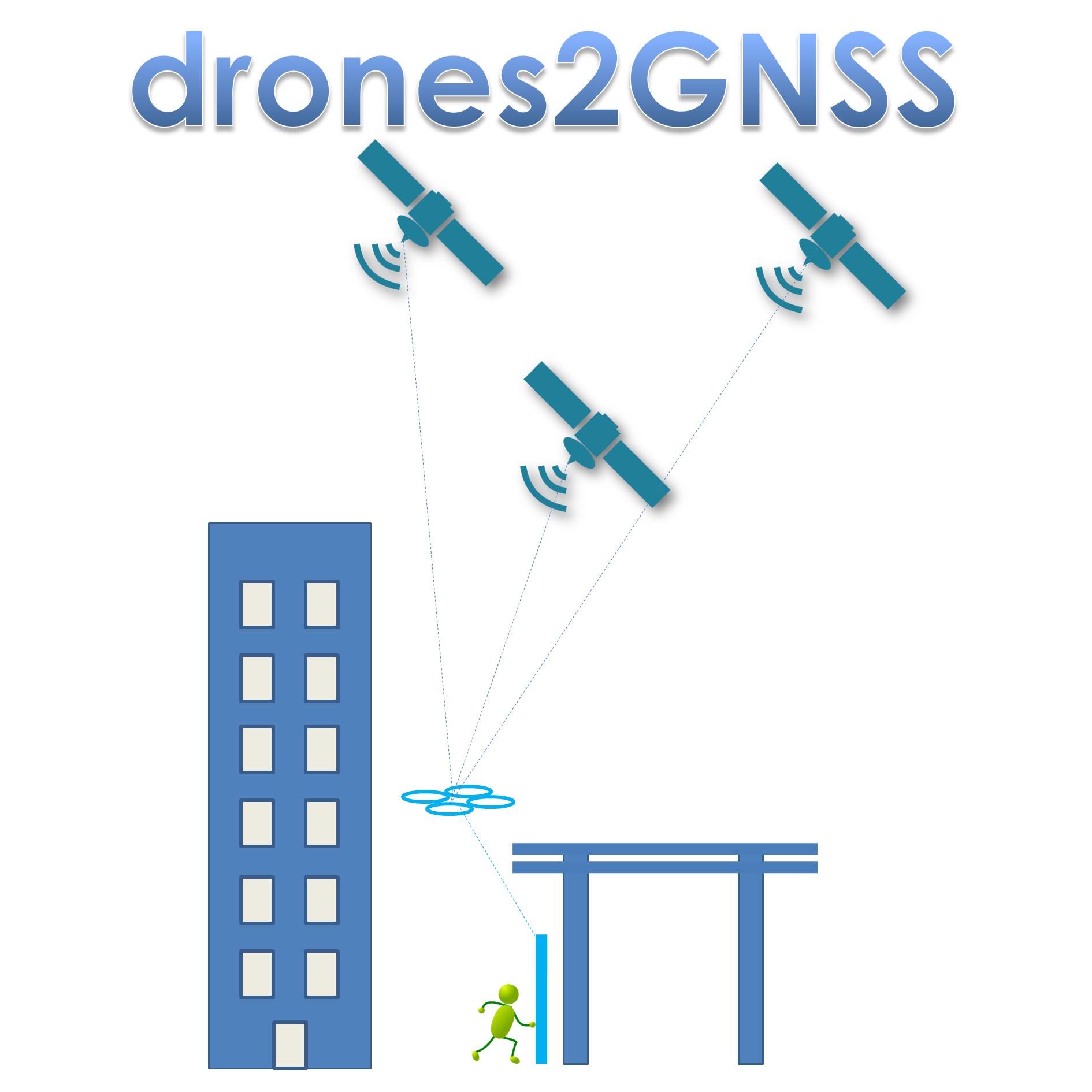 Λογότυπο Έργου Drone2GNSS